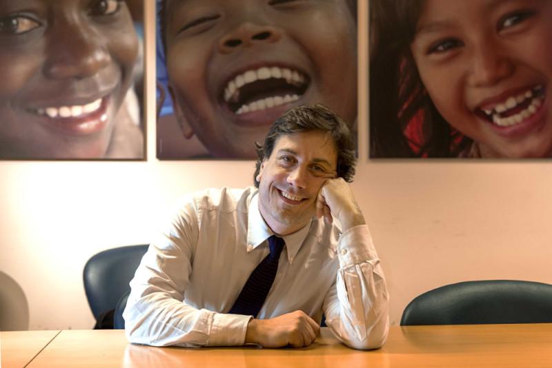 Andrea Iacomini: il portavoce dell'UNICEF Italia