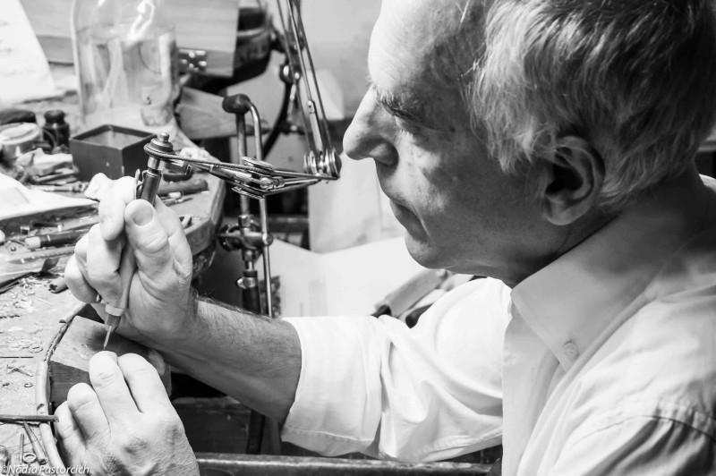 Maurizio Stagni: comunicare con l'arte orafa