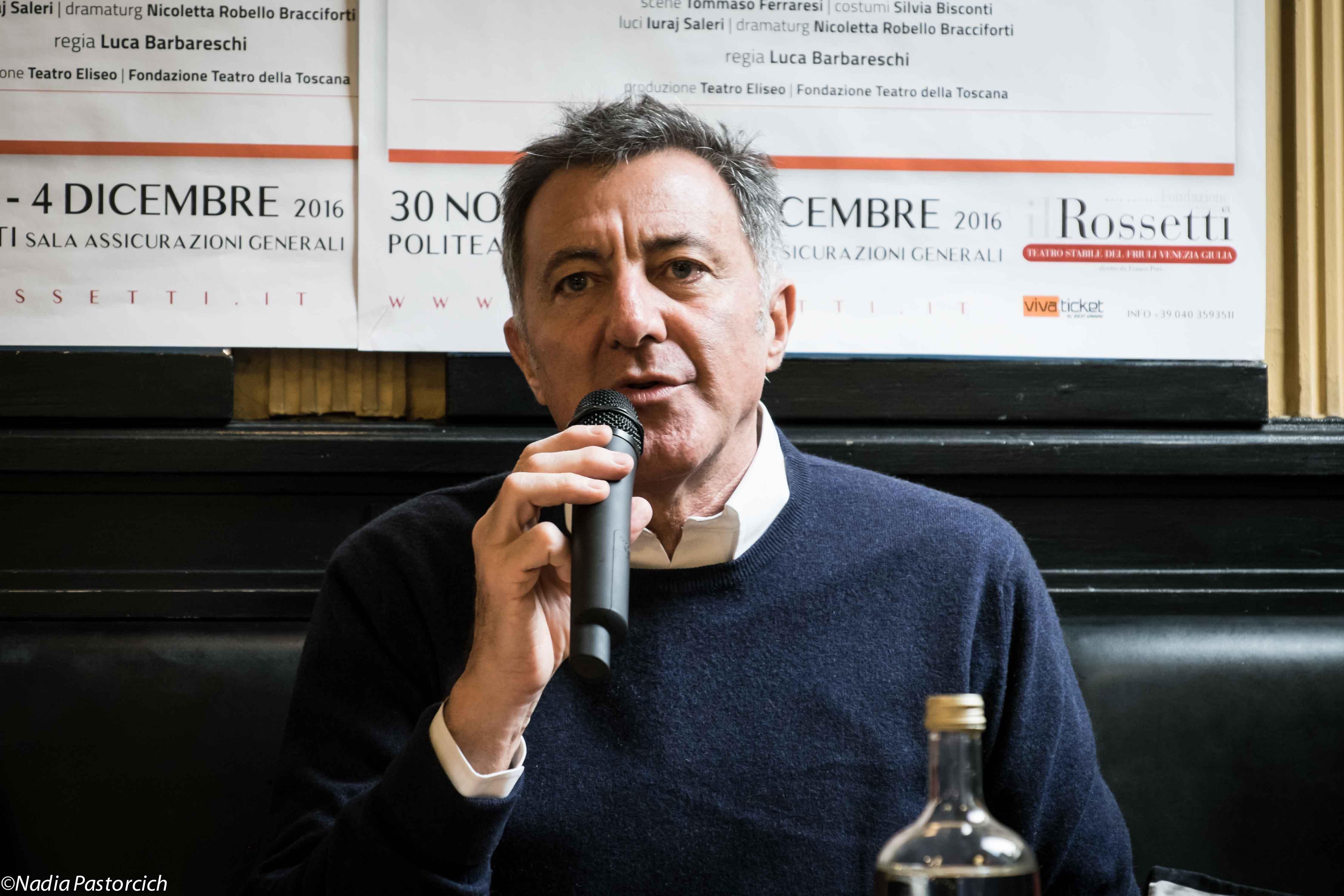 L'anatra all'arancia: la racconta Luca Barbareschi