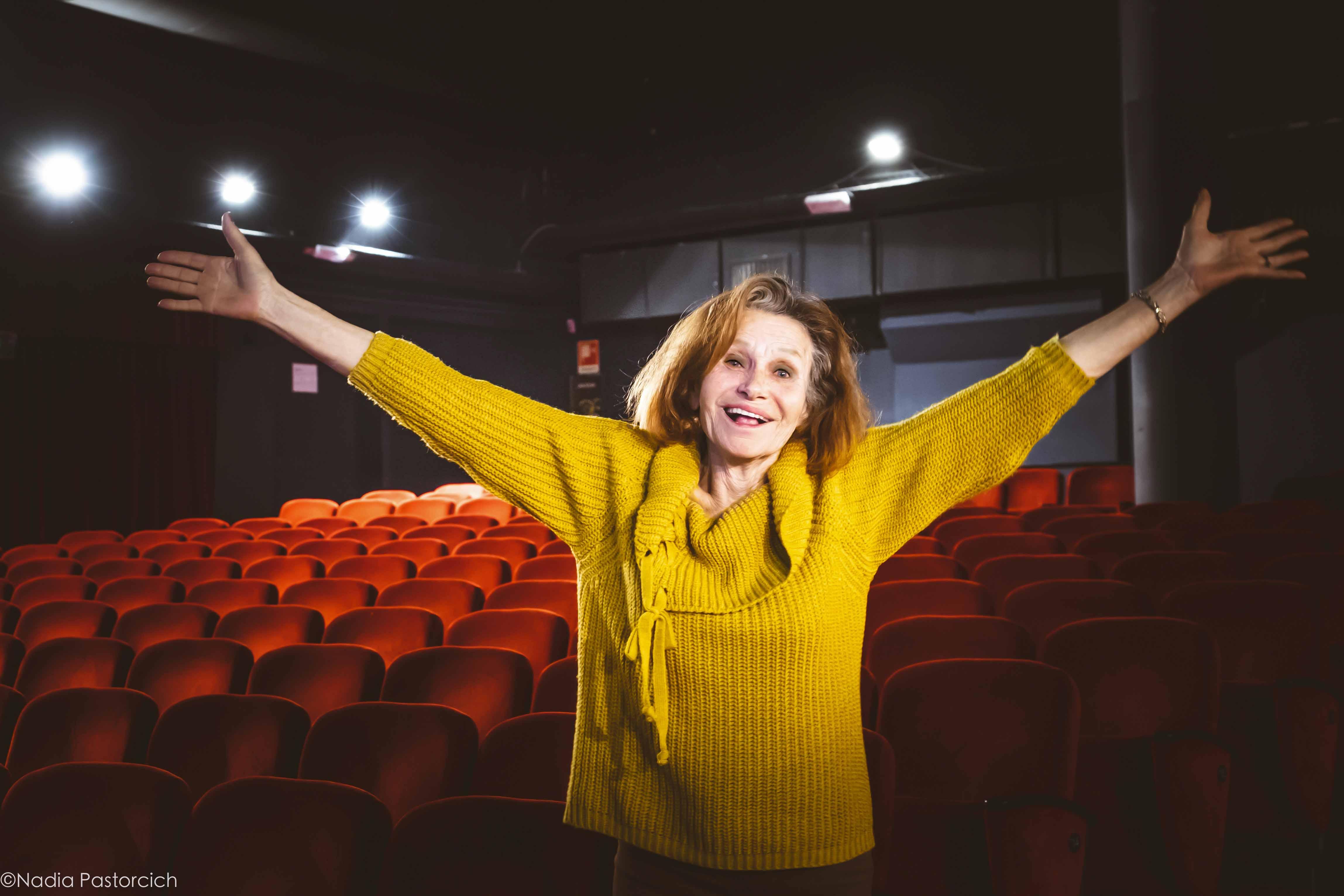 Erica Blanc: Entusiasta della vita