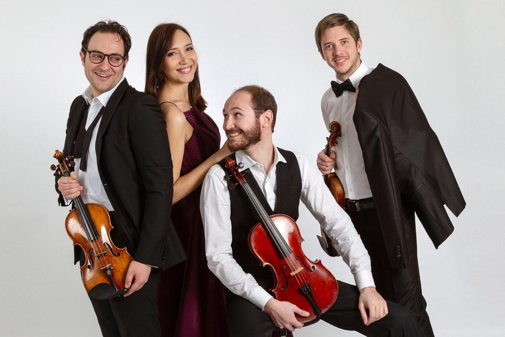Il Quartetto Chagall debutta in cd omaggio a Beethoven