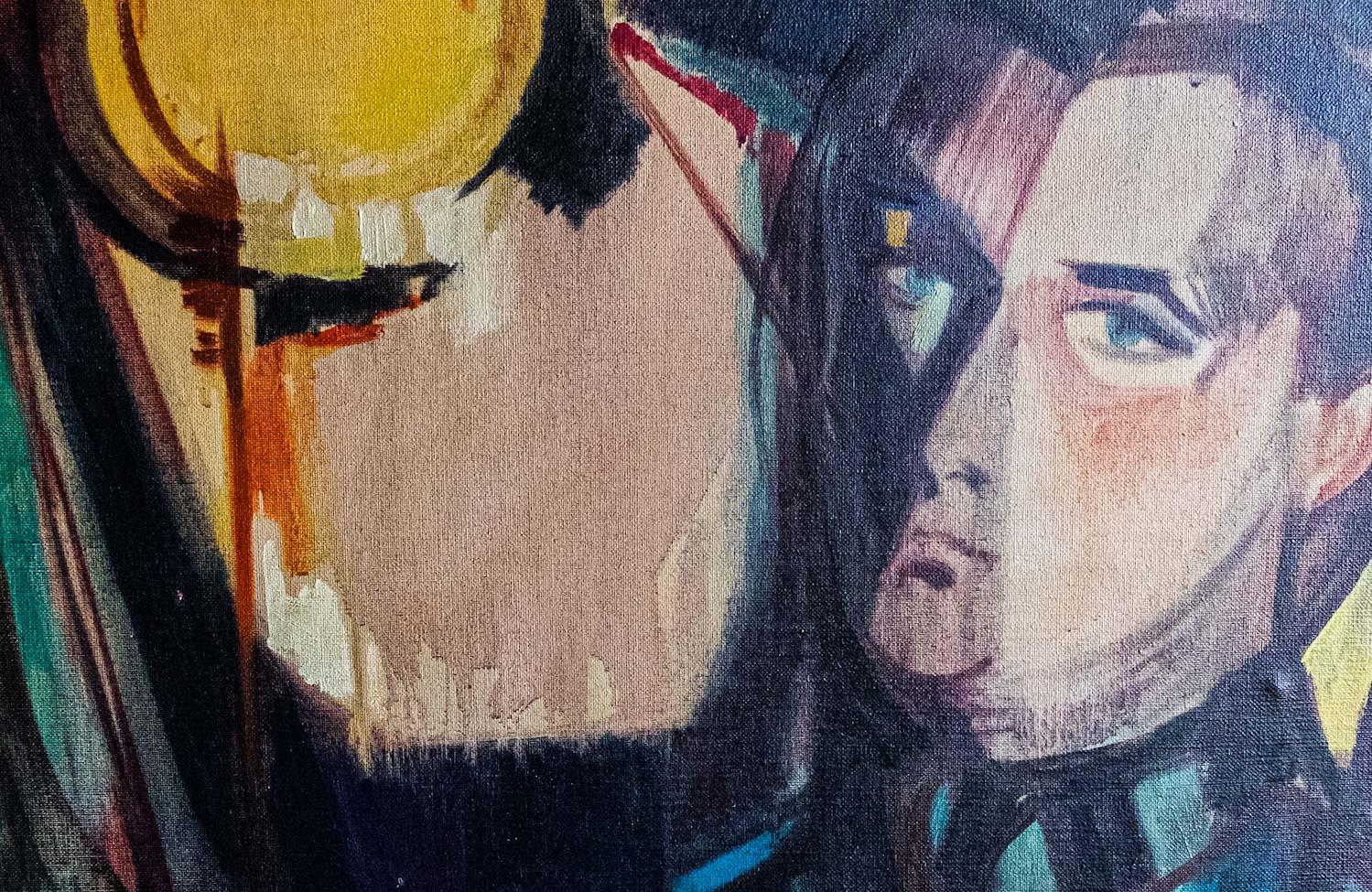 Bruno Zolia, pittore e ceramista con la matita fino alla Biennale