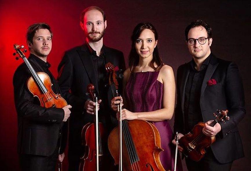 """Quartetto Chagall: Festival Rinascita per dare il """"la all'associazione TriesteClassica"""""""